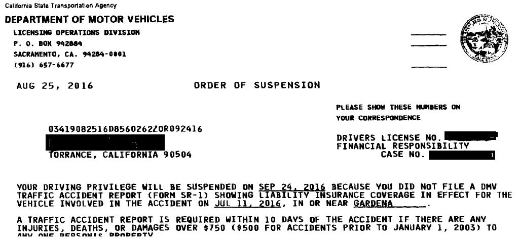 Financial Responsibility Hearings at the California DMVCalifornia ...